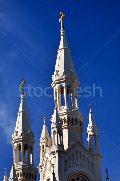 Szent katolikus templom San Francisco Kalifornia város Stock fotó © billperry