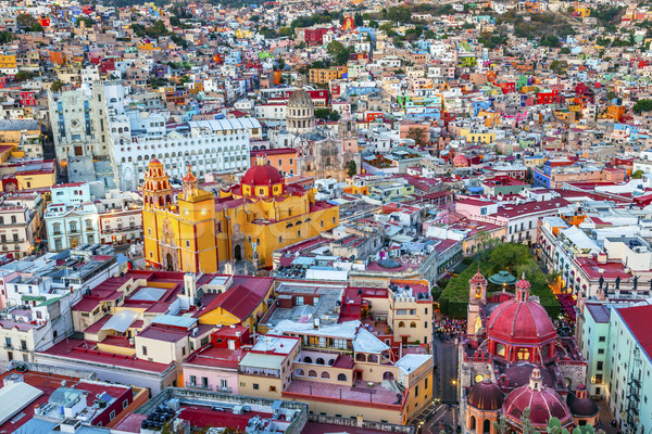 University Temple Companiia Our Lady Basilica Guanajuato Mexico  Stock photo © billperry