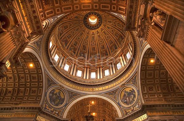 ドーム 天井 バチカン ローマ イタリア ストックフォト © billperry