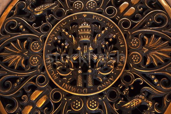 バチカン シール 階 バシリカ ローマ ストックフォト © billperry