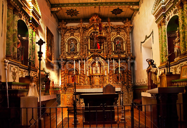 Serra Chapel Mission San Juan Capistrano Church California  Stock photo © billperry