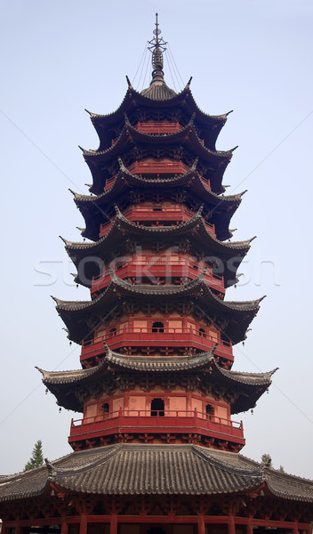 Ruigang Pagoda dates back to Song DynastyAncient Chinese Pagoda Stock photo © billperry