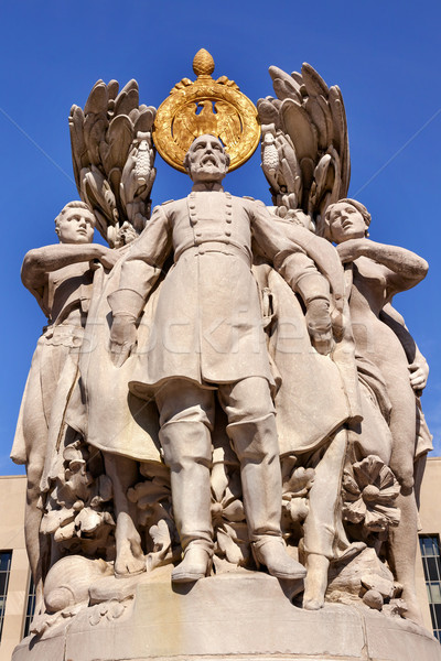George Gordon Meade Memorial Civil War Statue Pennsylvania Ave Washington DC Stock photo © billperry