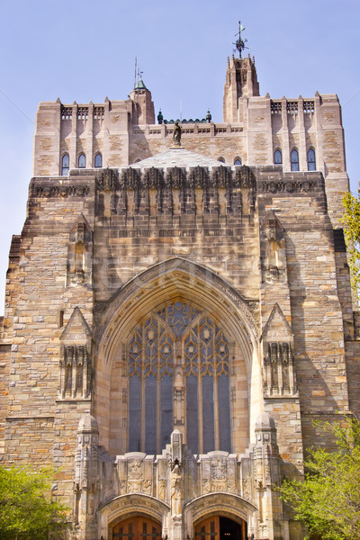 Yale University Sterling Memorial Library Stock photo © billperry