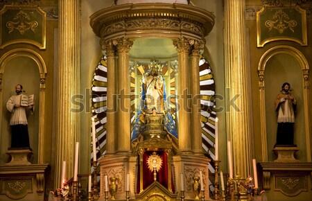 Basilica altare Gesù statua Madrid Foto d'archivio © billperry