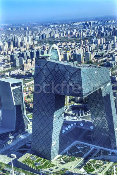 Cctv edificio mundo comercio centro Foto stock © billperry