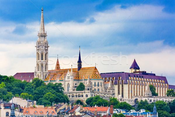 Matthias Church Budapest Hungary Stock photo © billperry
