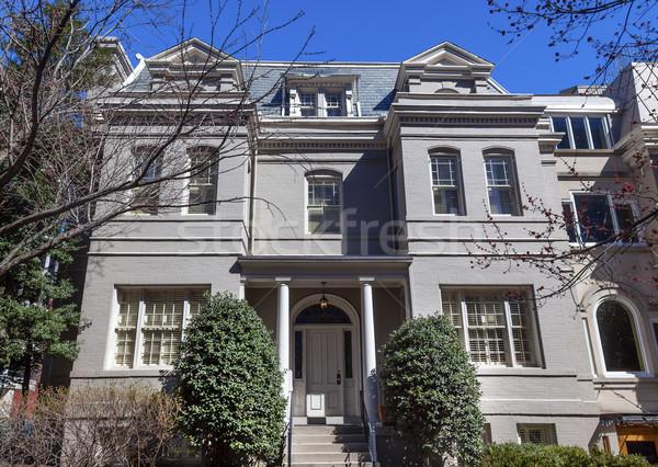 Theodore Roosevelt House Washington DC Stock photo © billperry