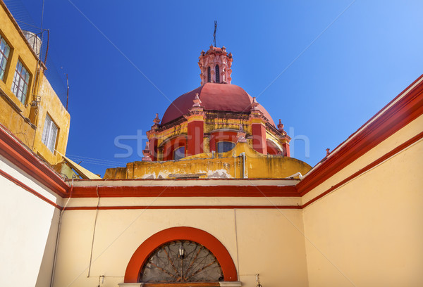 ドーム 入り口 寺 メキシコ バシリカ 完成した ストックフォト © billperry