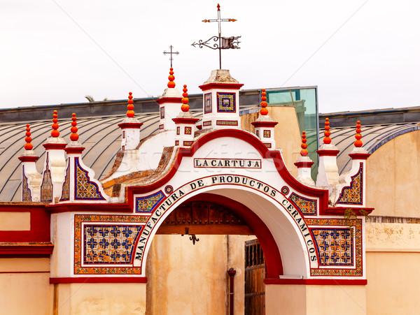 Centro Andaluz de Arte Contemporaneo Triana Seville Andalusia Sp Stock photo © billperry