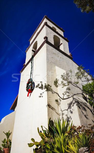 Missie Californië vader gebouw kerk Stockfoto © billperry