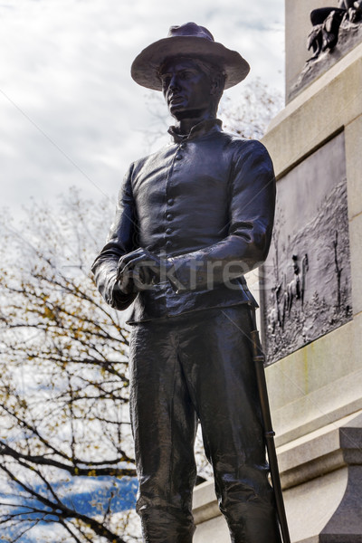 Soldier Statue General William Tecumseh Sherman Civil War Memori Stock photo © billperry