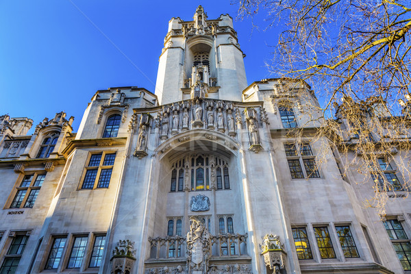 Supreme Court United Kingdom Middlesex Guildhall Westminster Lon Stock photo © billperry