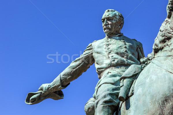 General Phil Sheridan Statue Sheridan Circle Embassy Row Washing Stock photo © billperry
