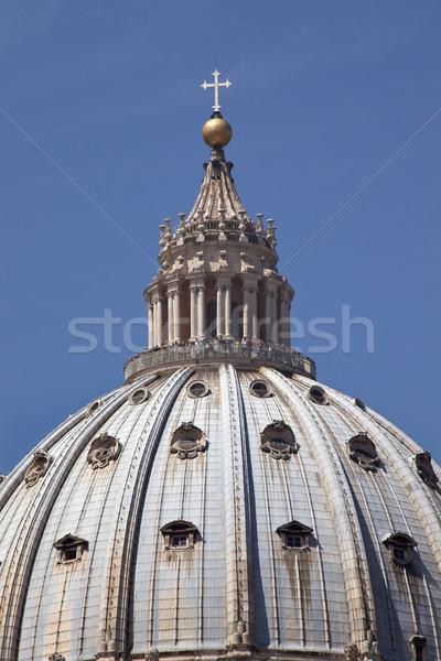 Michelangelo's Dome Saint Peter's Basilica Vatican Rome Italy Stock photo © billperry