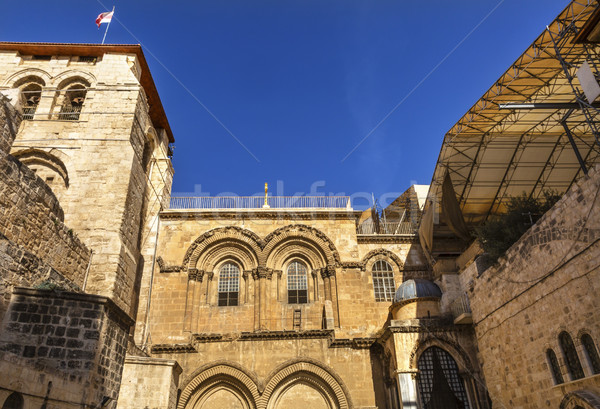 Church of the Holy Sepulchre Jerusalem Israel  Stock photo © billperry