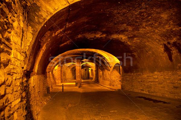 Ondergrondse tunnel verkeer Mexico zilver beroemd Stockfoto © billperry