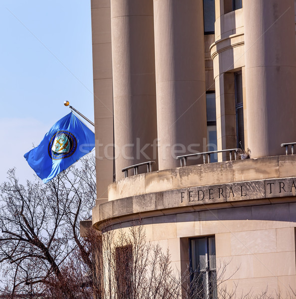 US Federal Trade Commission FTC Flag Washington DC Stock photo © billperry