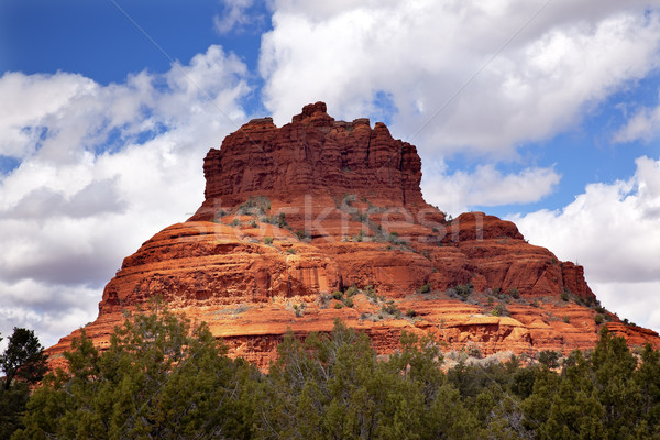 Bell Rock Butte Orange Red Rock Canyon Sedona Arizona Stock photo © billperry
