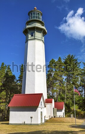 Grays Harbor Lighthouse Maritime Museum Westport Washington Stat Stock photo © billperry