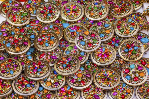 Kleurrijk Mexicaanse souvenir Mexico veel gekleurd Stockfoto © billperry