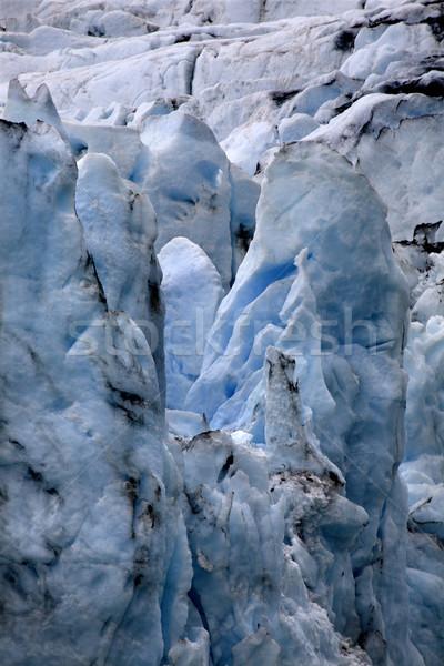Glacier Alaska bleu glace eau Photo stock © billperry