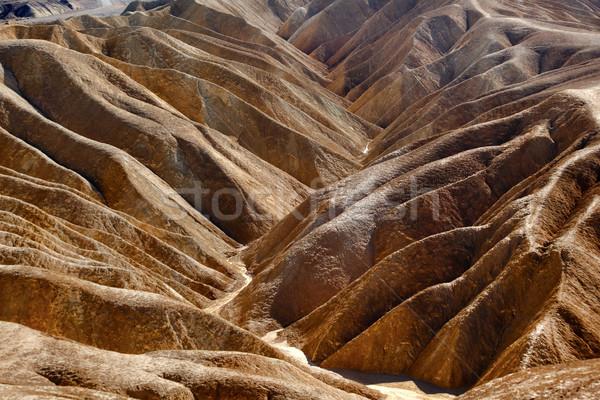 Zabruski Point Road Death Valley National Park California Stock photo © billperry