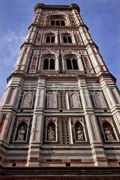 Giotto's Bell Tower Duomo Cathedral Basilica Florence Italy Stock photo © billperry