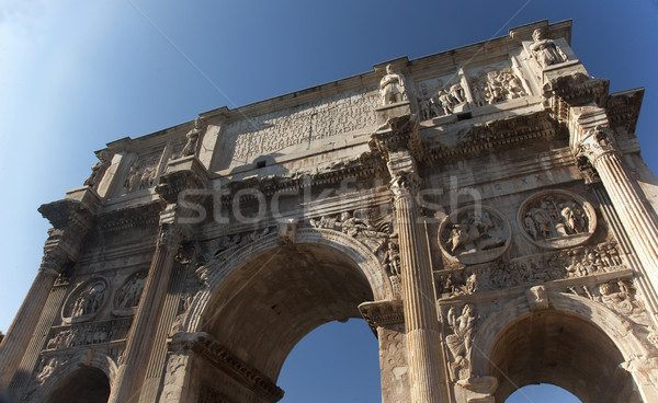 Arch of Constantine Rome Italy Stock photo © billperry