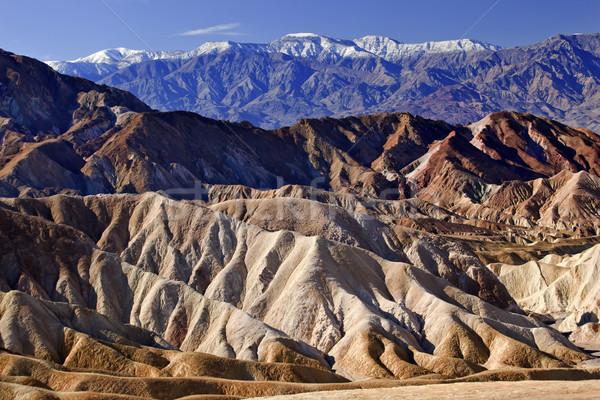 Ponto montanhas morte vale parque Califórnia Foto stock © billperry
