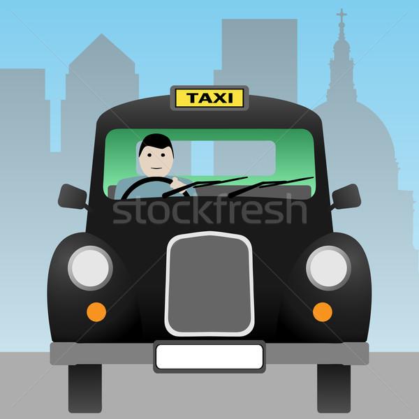 Taxi Cab Stock photo © Binkski