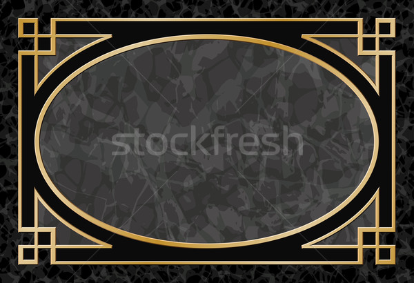 Marble Background with Frame, Border Stock photo © Binkski