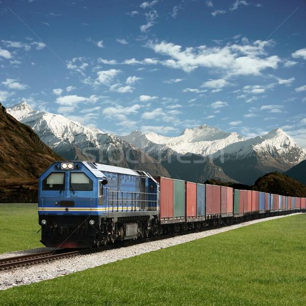 Freight Train Stock photo © Binkski