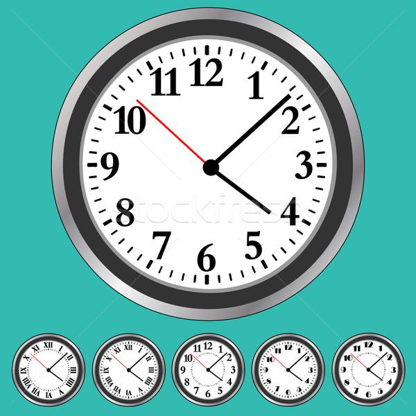 Clock Faces Stock photo © Binkski