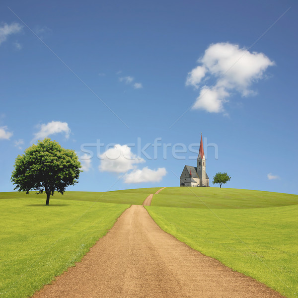 Stock photo: Church