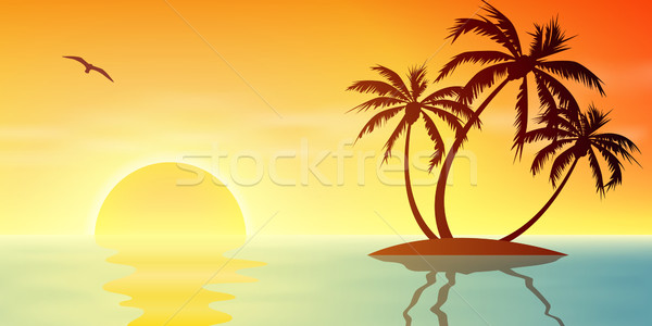 Tropical Island  Stock photo © Binkski