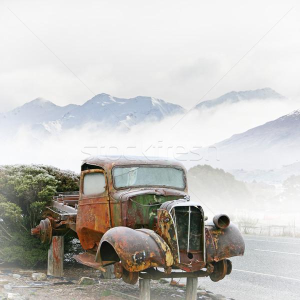 Old Truck Stock photo © Binkski