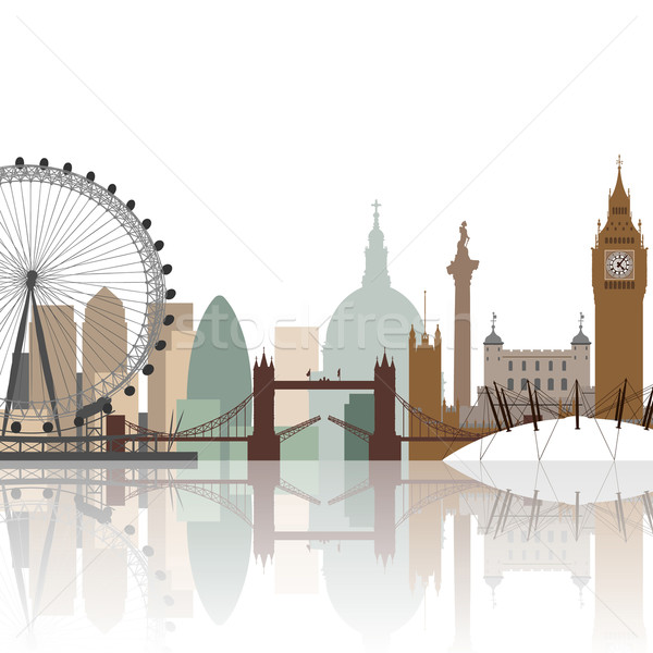 London Cityscape  Stock photo © Binkski