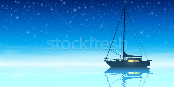 Sailing Boat Stock photo © Binkski