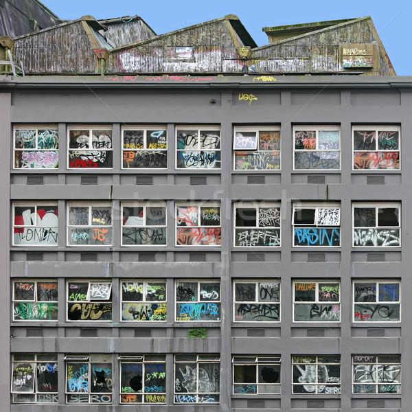 A Derelict Building Stock photo © Binkski
