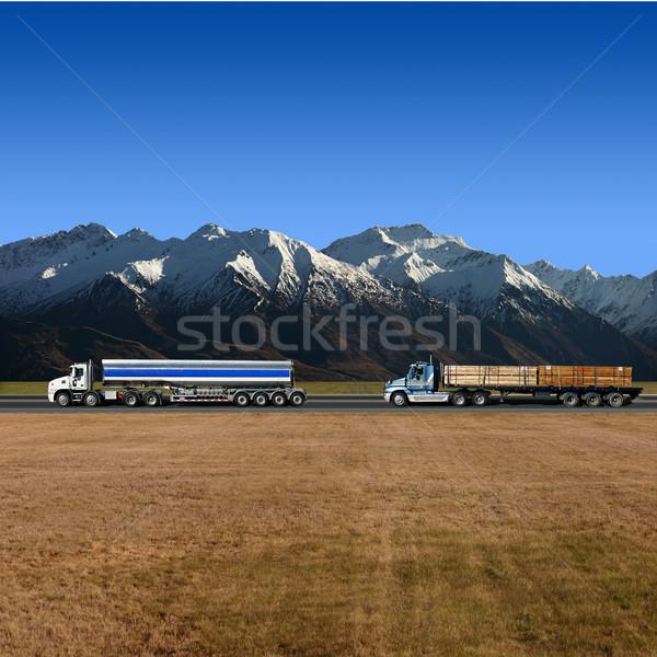 Trucks Stock photo © Binkski