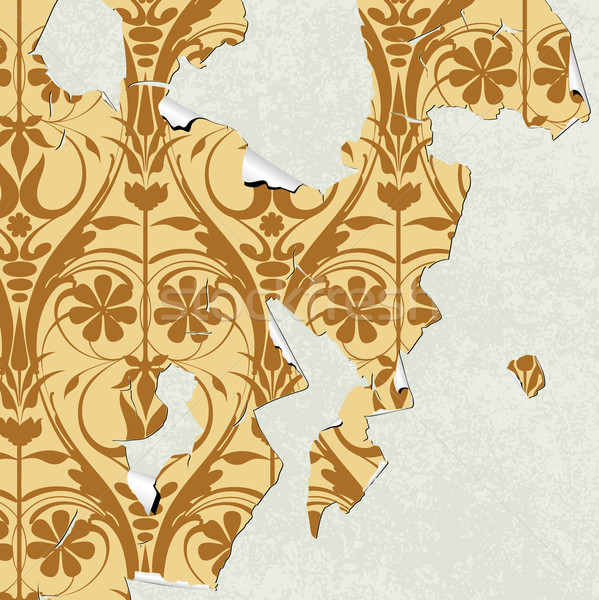 Peeling Wallpaper Stock photo © Binkski