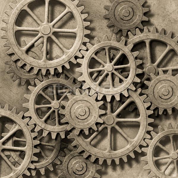Mechanical Background Stock photo © Binkski