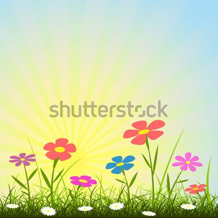Flower Background Stock photo © Binkski