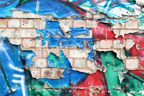 Graffiti Wall Stock photo © Binkski