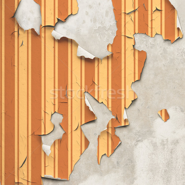 Peeling Wallpaper Stock photo © Binkski