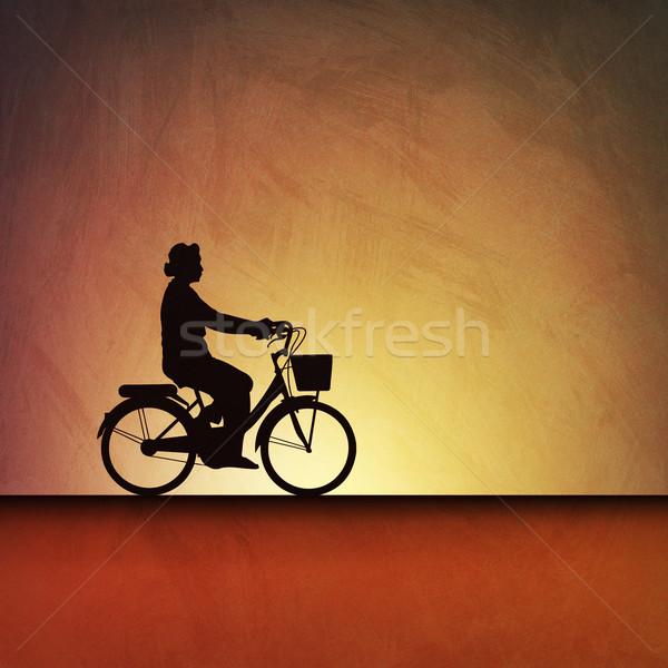 Bicycle Background Stock photo © Binkski
