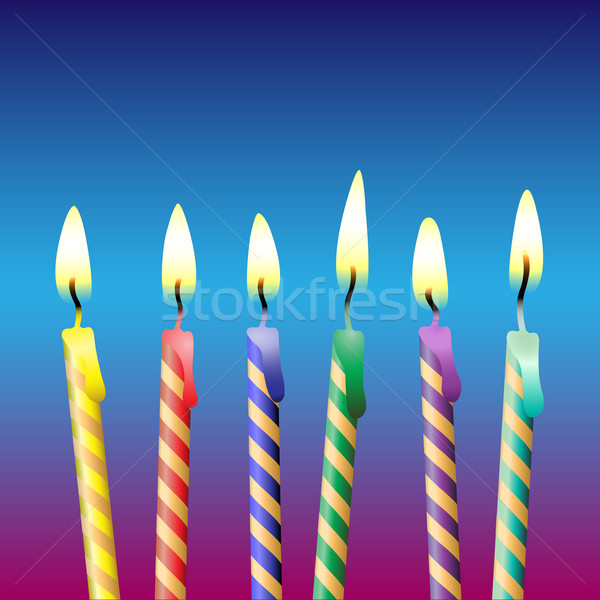 Birthday Candles Stock photo © Binkski