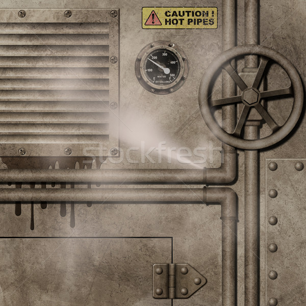 Industrial Background Stock photo © Binkski