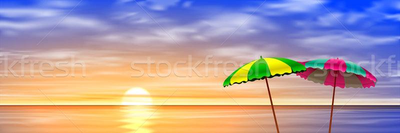 Two Parasols  Stock photo © Binkski